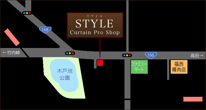 STYLE アクセスマップ